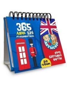 Agymenők 365 angol szó példamondatokkal 9-11 éveseknek
