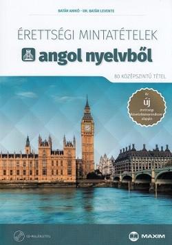 Érettségi mintatételek angol nyelvből - 80 középszintű tétel 2017. + CD