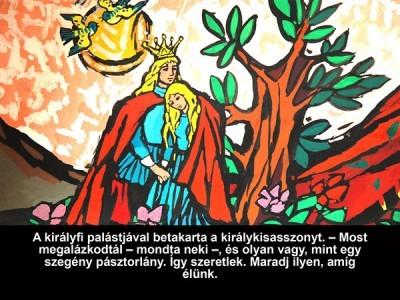 A válogatós királykisasszony - Diafilm