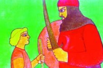 Dávid és Góliát - Diafilm