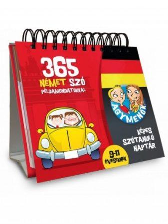 Agymenők 365 német szó példamondatokkal 9-11 éveseknek