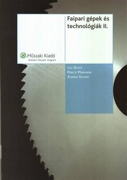Faipari gépek és technológiák II.
