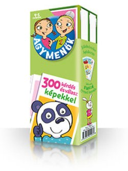 Agymenők 4-5 éveseknek / 300 kérdés és válasz képekkel