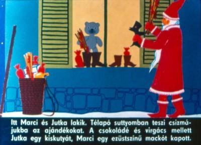 Télapó és Ezüstmackó - Diafilm