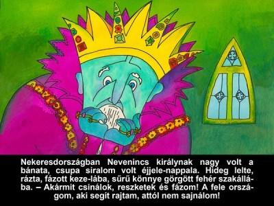 A didergő király - Diafilm