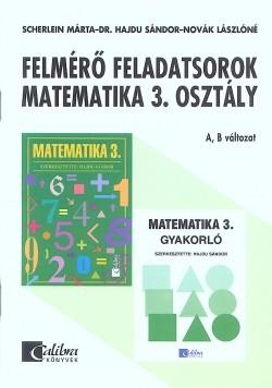 Matematika 3. felmérő feladatsorok CA-0332