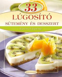 33 lúgosító sütemény és desszert
