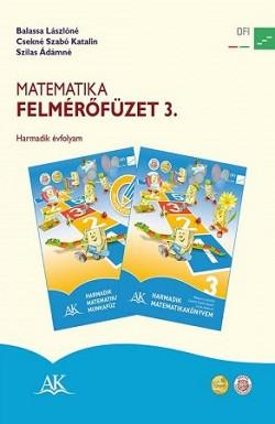 Matematika felmérőfüzet 3.  (AP-030841)