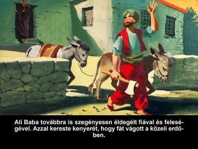 Ali baba és a 40 rabló - Diafilm