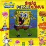 SpongyaBob Kockanadrág - Óriás puzzlekönyv - 5 kirakóval
