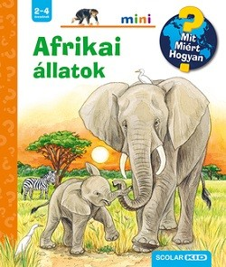 Afrikai állatok - Scolar mini 44.