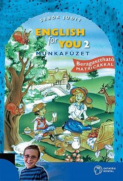 English for You 2. Munkafüzet [56473/M]