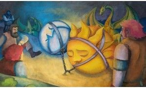 A Nap és a Hold, Az okos anya (Cigány mesék) - Diafilm