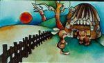 A nyulacska házikója - Diafilm
