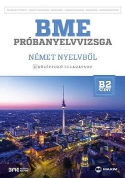 BME próbanyelvvizsga német nyelvből - 8 középfokú feladatsor - B2 szint +CD