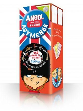 Agymenők kártyacsomag angol - Nem csak kezdő - 450 kérdés és válasz + 1 szótár