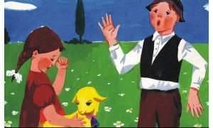 Az aranyszőrű bárány - Diafilm